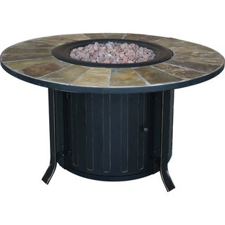"""Montini 46"""" Gas Fire Table"""