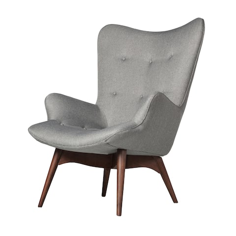 Aussie Contour Lounge Chair in Light Grey