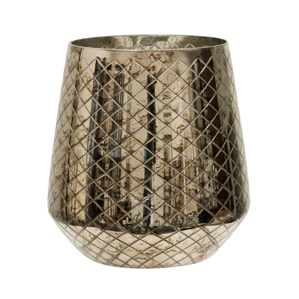 StyleCraft Tri-Cut Hurricane Glass Canister. Opens flyout.
