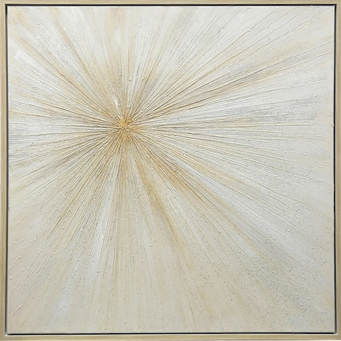 Strick & Bolton Hand-painted Starburst Wall Art