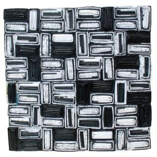 Handmade Paper Abstract Art (Indonesia)