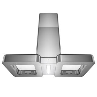 "AKDY 38"" Island Mount Stainless Steel Range Hood 3 Speed Touch Control Panel"
