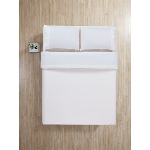 100-Percent Cotton - 4 Piece - Flannel Bed Sheets Set - QUEEN