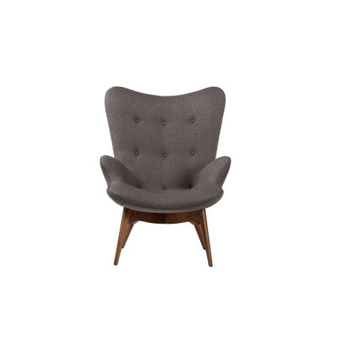 Aussie Contour Lounge Chair in Dark Grey