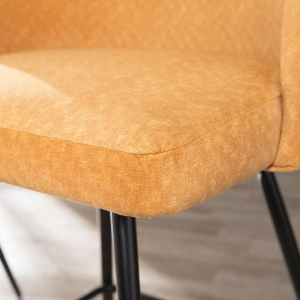 Astonishing Shop Carson Carrington Ostfold Glam Vintage Yellow Black Creativecarmelina Interior Chair Design Creativecarmelinacom