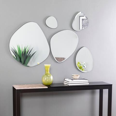 Woxsley Frameless Cluster Wall Mirror Set