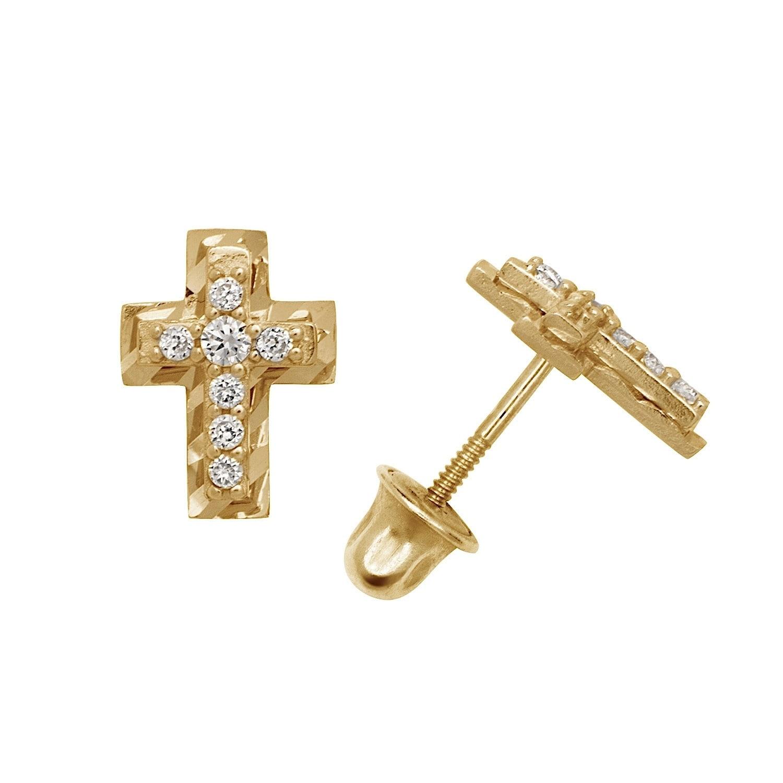 Lex /& Lu 14k Gold Polished Arrow Pendant-Prime
