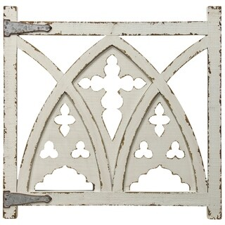The Gray Barn Arched Gate Metal and Wood Wall Hanging