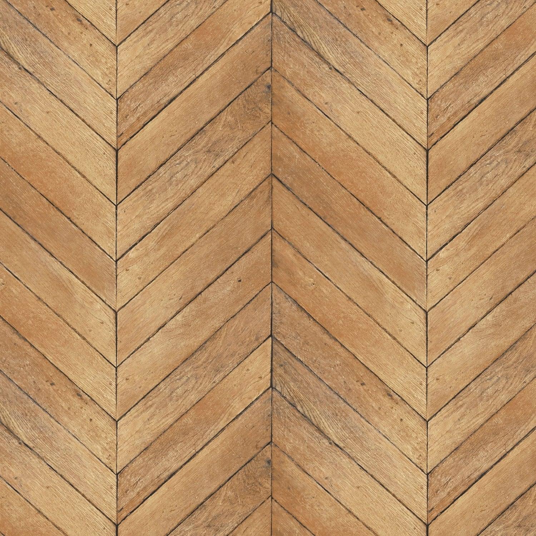 Chevron Wood Wallpaper