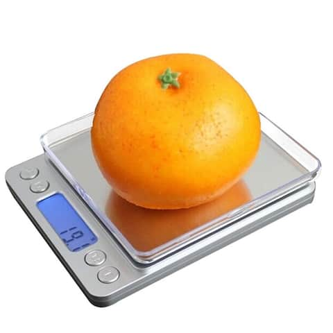 Fuji Labs Kitchen Scale with Digital LCD Display