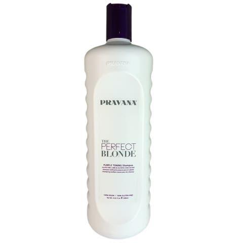 Pravana The Perfect Blonde Purple Toning 33.8-ounce Hair Shampoo