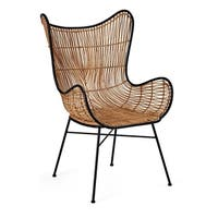 Imax Acerra Woven Wicker Chair