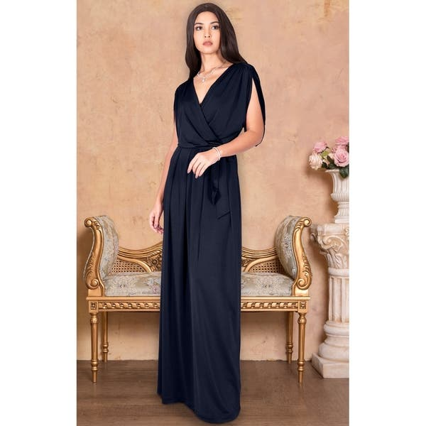 9f102dfa57 Shop KOH KOH Long Semi Formal Bridesmaid Evening Cocktail Gown Maxi ...