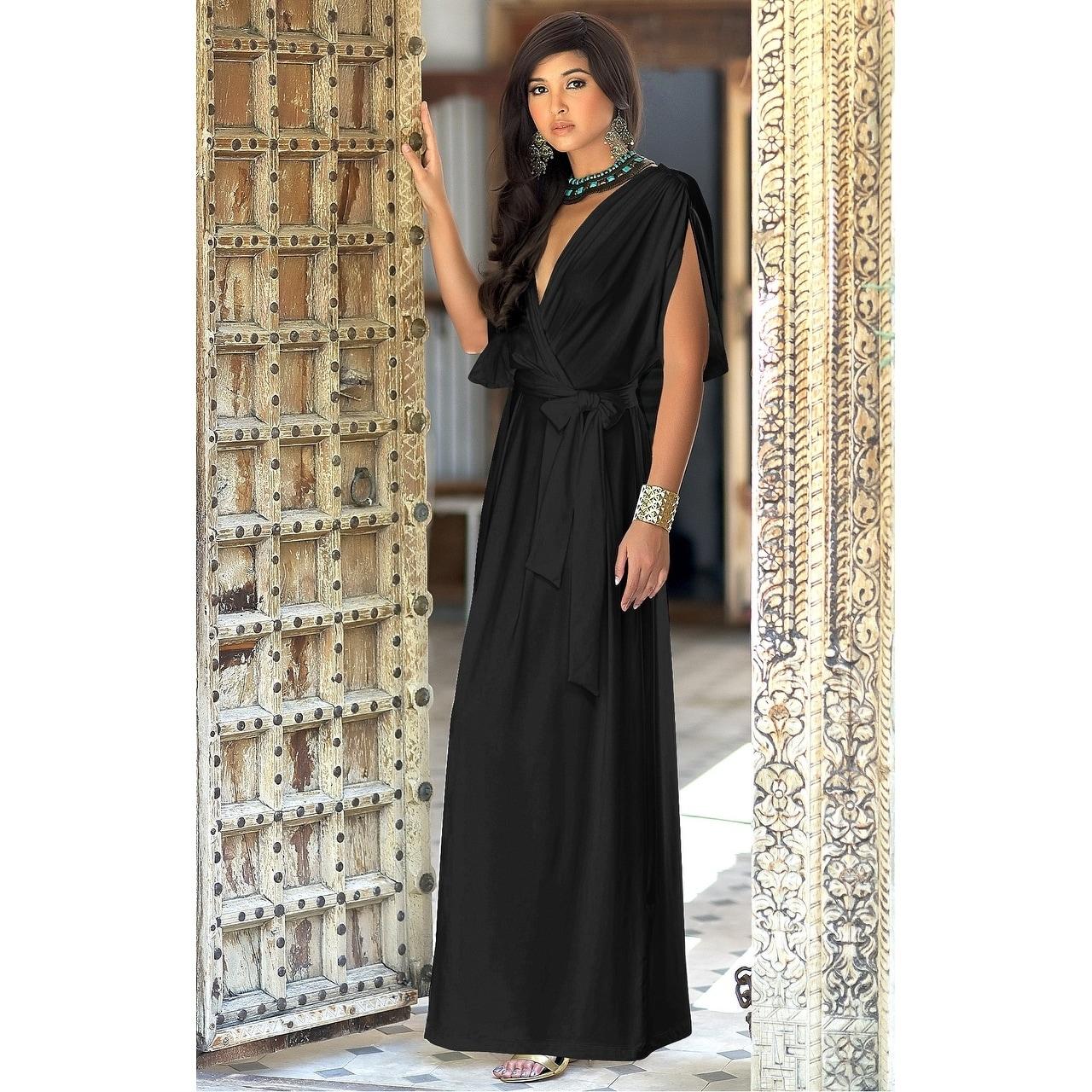 ffd3a261e771c Royal Blue Maternity Dress With Split | Saddha