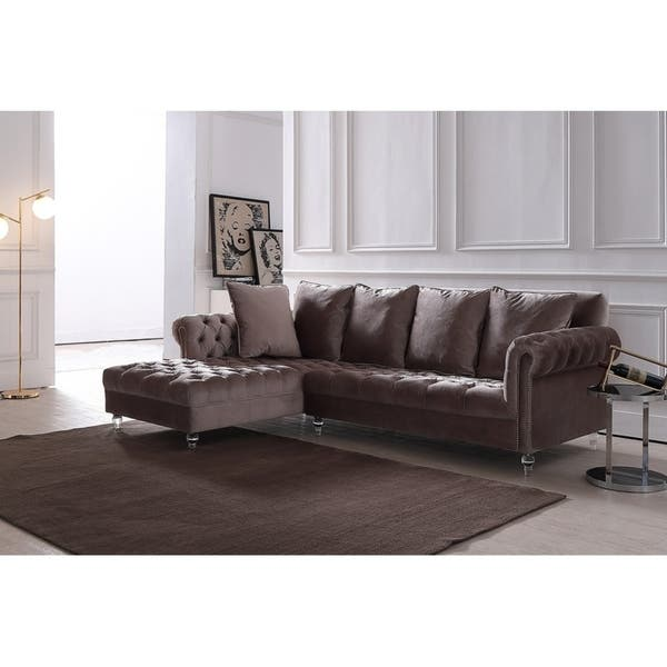Tremendous Shop Silver Orchid Purviance Modern Light Grey Sectional Ibusinesslaw Wood Chair Design Ideas Ibusinesslaworg