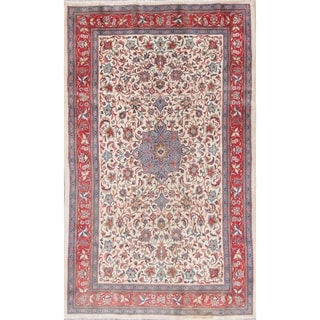 """Sarouk Floral Hand-Knotted Wool Persian Oriental Area Rug - 7'2"""" x 4'4"""""""