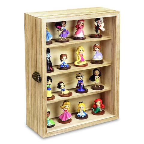 Wall Mounted Collectible Display Case Shadow Box