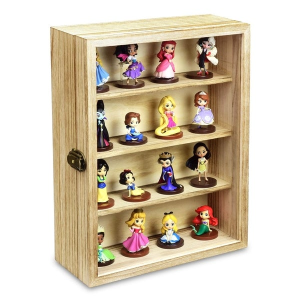 Wall Mounted Collectible Display Case Shadow Box. Opens flyout.