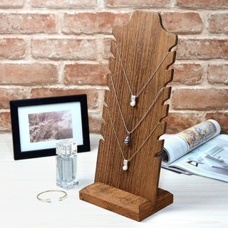 Wooden  Necklace Easel Display Bust Stand