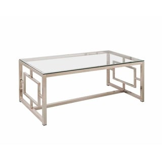 Durst Glass Top Coffee Table