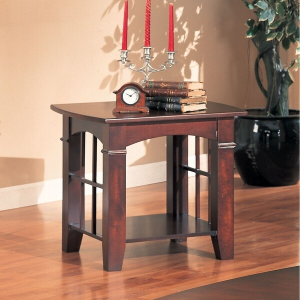 Sapporo Cherry End Table