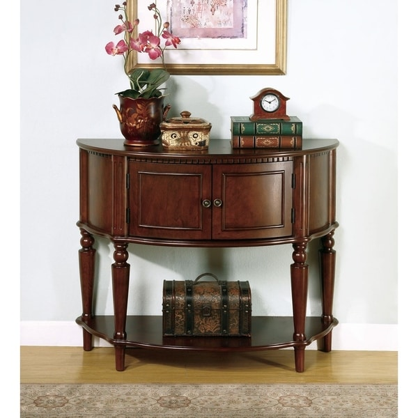 Cambridge Traditional Wood Console Table