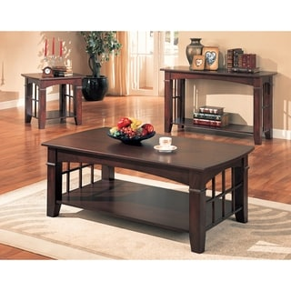 Sapporo Cherry 3-piece Occasional Table Set