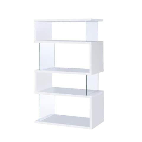 Torval Casual Asymmetrical Bookcase