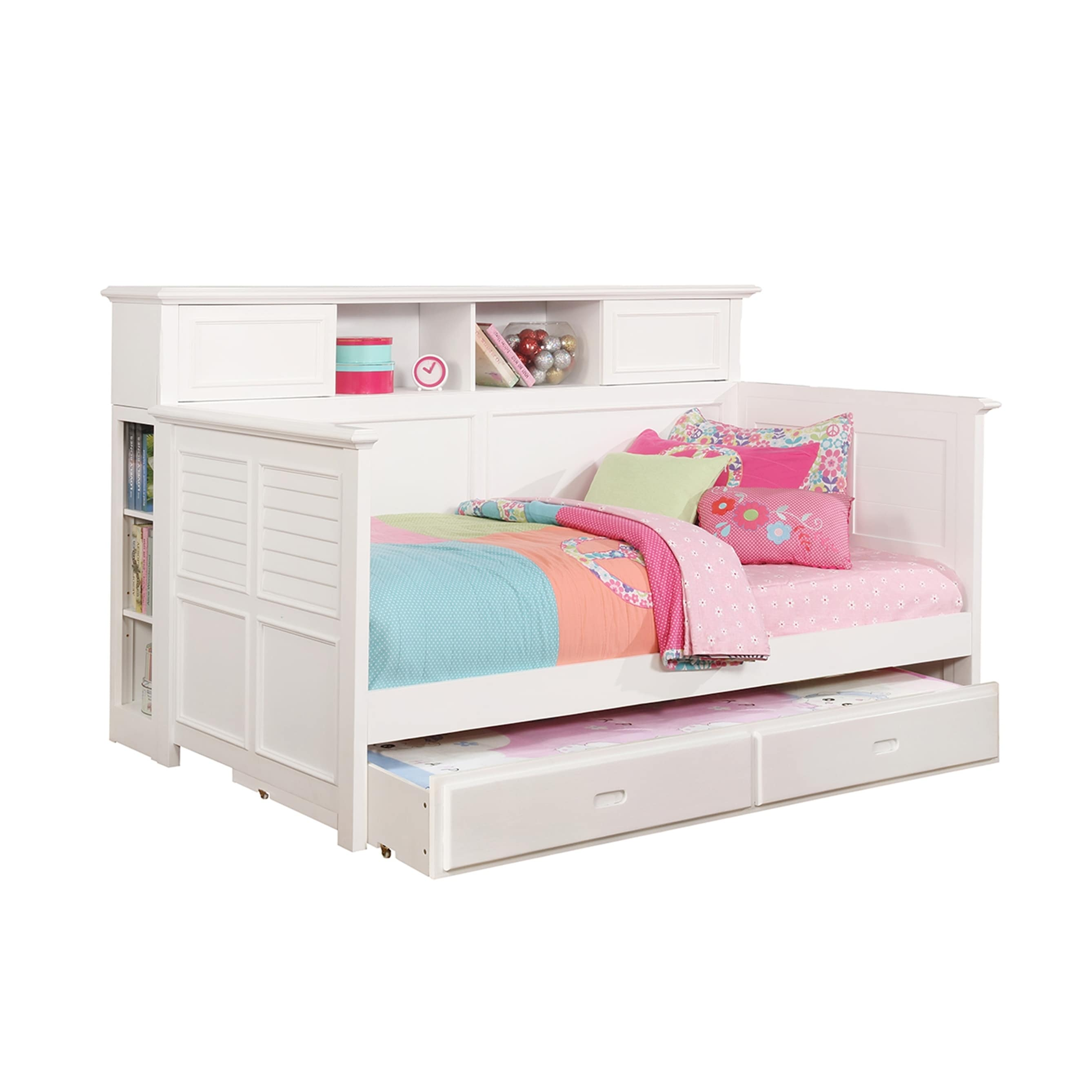 Clairmont Bookcase Add On For White Daybed