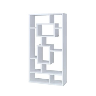 Aurelle Geometric Cube Bookcase
