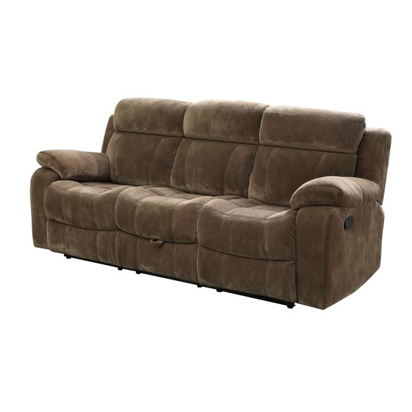 Dover Brown Reclining Sofa