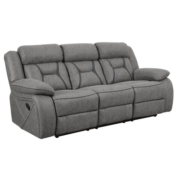 Buy Grey, Leather Sofas & Couches Online at Overstock | Our ...