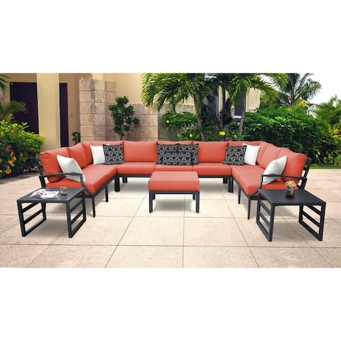 Lexington 12-piece Outdoor Aluminum Patio Furniture Set 12g