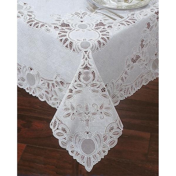 Crochet Vinyl Lace Tablecloth