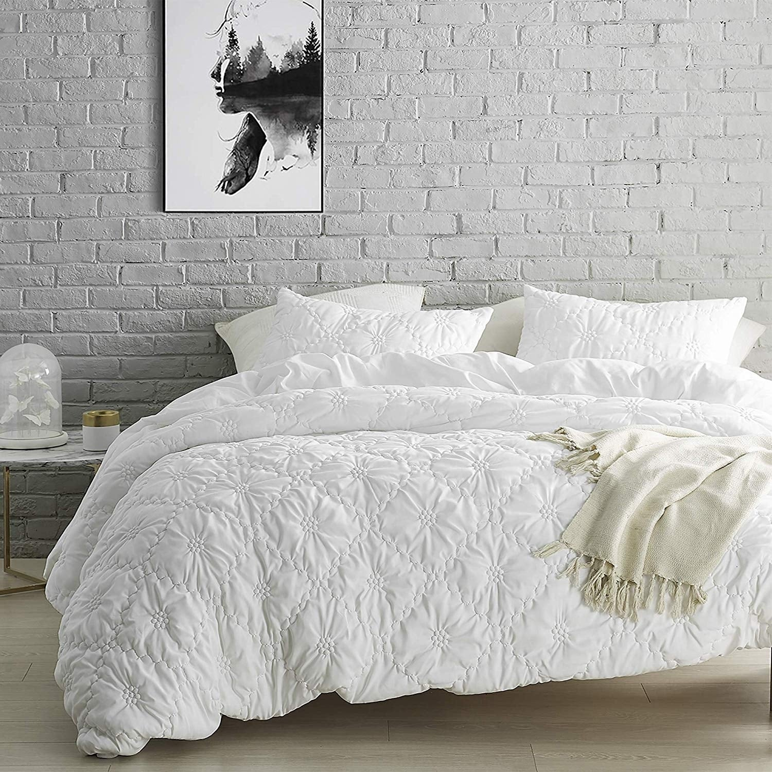 Farmhouse Morning Textured Bedding Duvet Cover Overstock 27663012