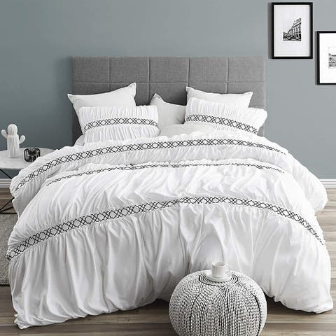 Santorini Textured Supersoft Duvet Cover
