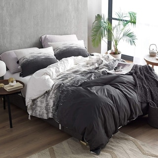 Ombre Nights Duvet Cover - Faded Black