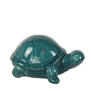 Privilege Blue Ceramic Turtle