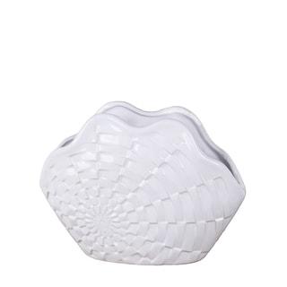 Privilege White Ceramic Vase