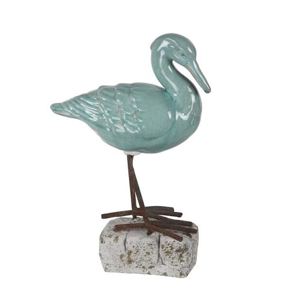 Privilege Blue Ceramic Bird