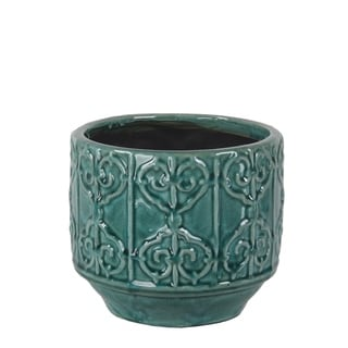 Privilege Blue Ceramic Pot
