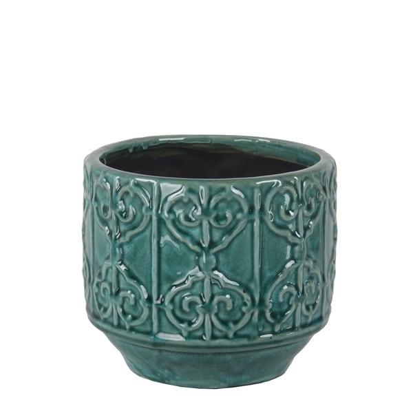 Privilege Blue Ceramic Pot