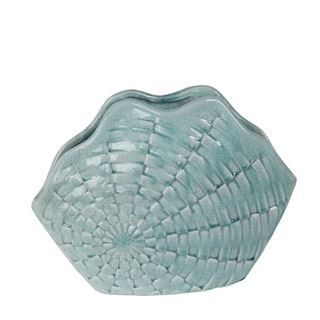Privilege Blue Ceramic Vase