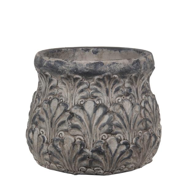 Privilege Small Cement Vintage Urn