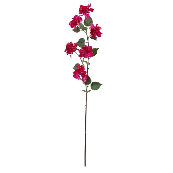 "47"" Bougainvillea Artificial Flower (Set of 4)"