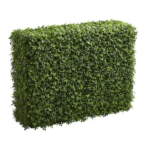 """39"""" Boxwood Artificial Hedge (indoor/Outdoor)"""
