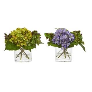 Hydrangea Artificial Arrangement (Set of 2)