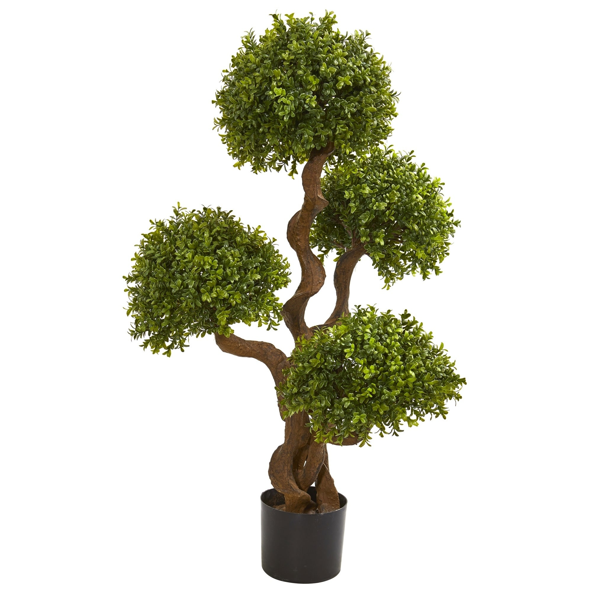 3.5 Four Ball Boxwood Artificial Topiary Tree