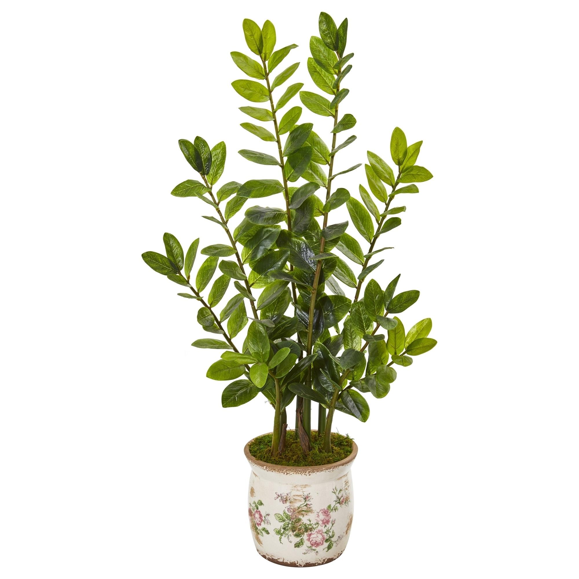 39 Zamioculcas Artificial Plant in Floral Design Planter