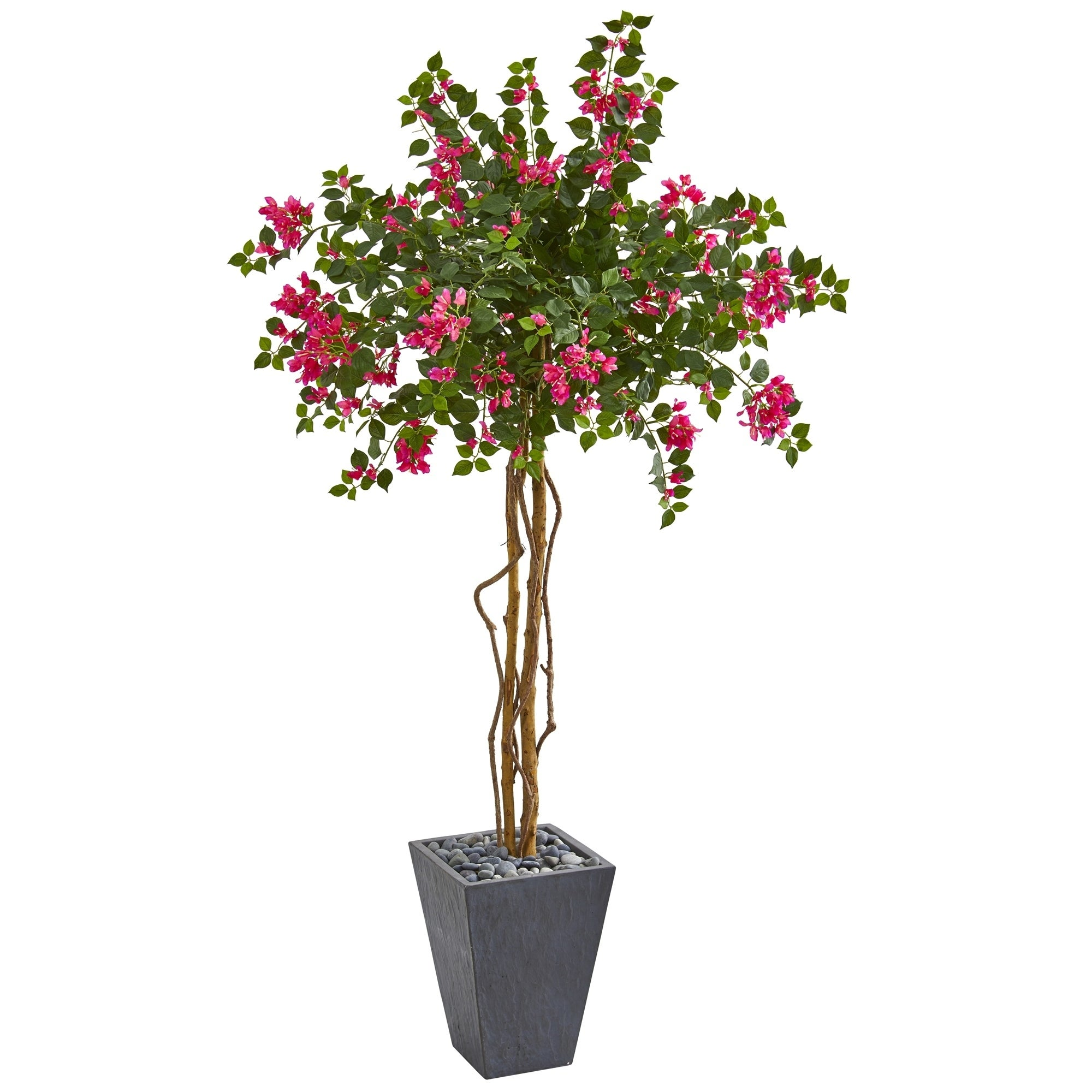6.5 Bougainvillea Artificial Tree in Decorative Planter